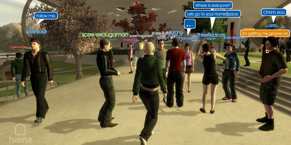 SNIKTITT: Playstation Home