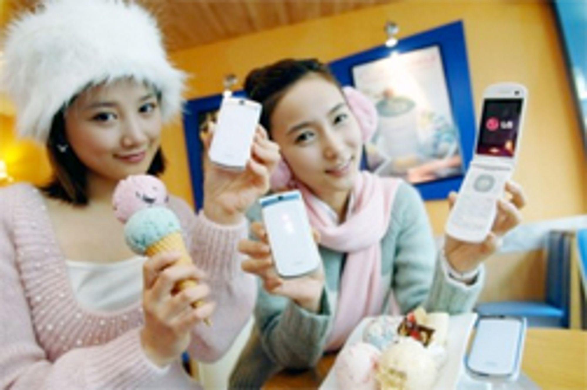 Ice Cream Phone i vante omgivelser.