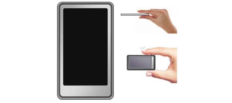 De første bildene av den berøringsfølsomme Sony Walkman