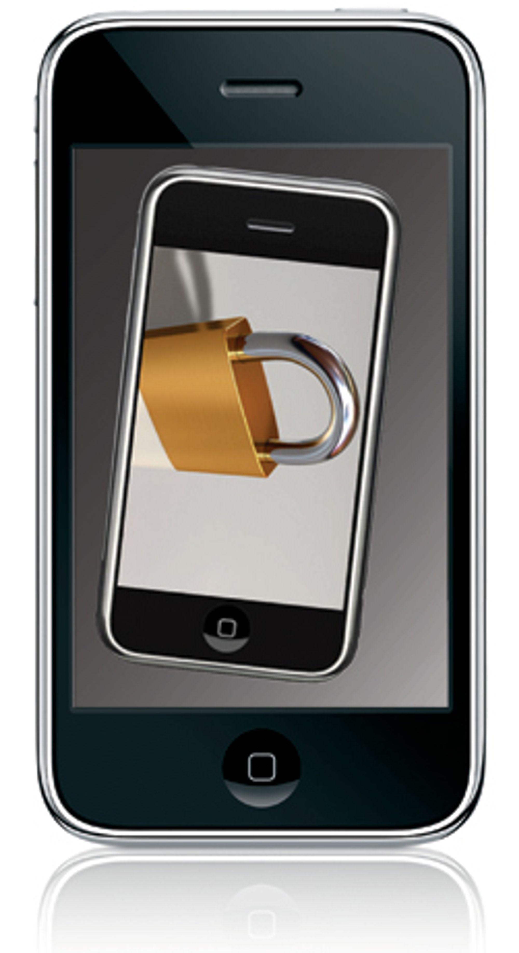 Iphone 3G kan snart låses opp, slik det er mulig på den gamle utgaven.