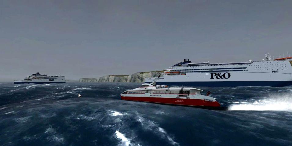 Ekstreme forhold i nytt Ship Simulator