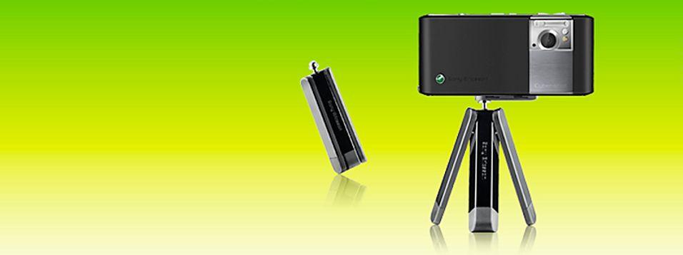 Skal du ha skarpere bilder med din Sony Ericssson-telefon, kan dette stativet hjelpe.