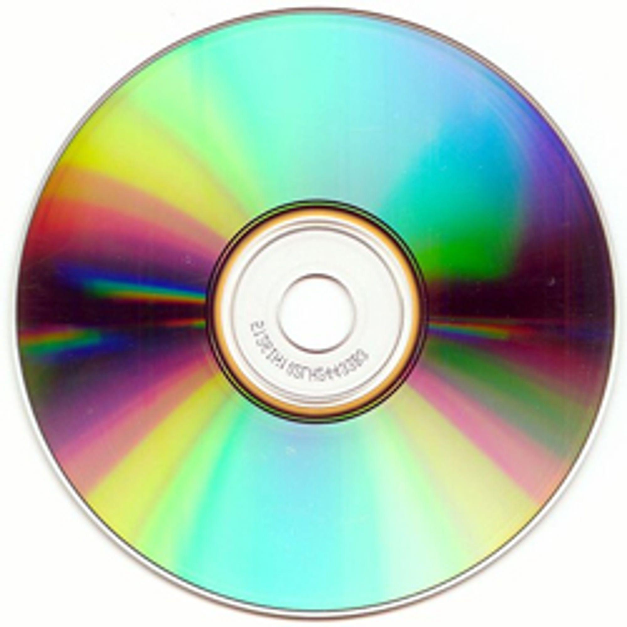 CD. (Foto: NRK)