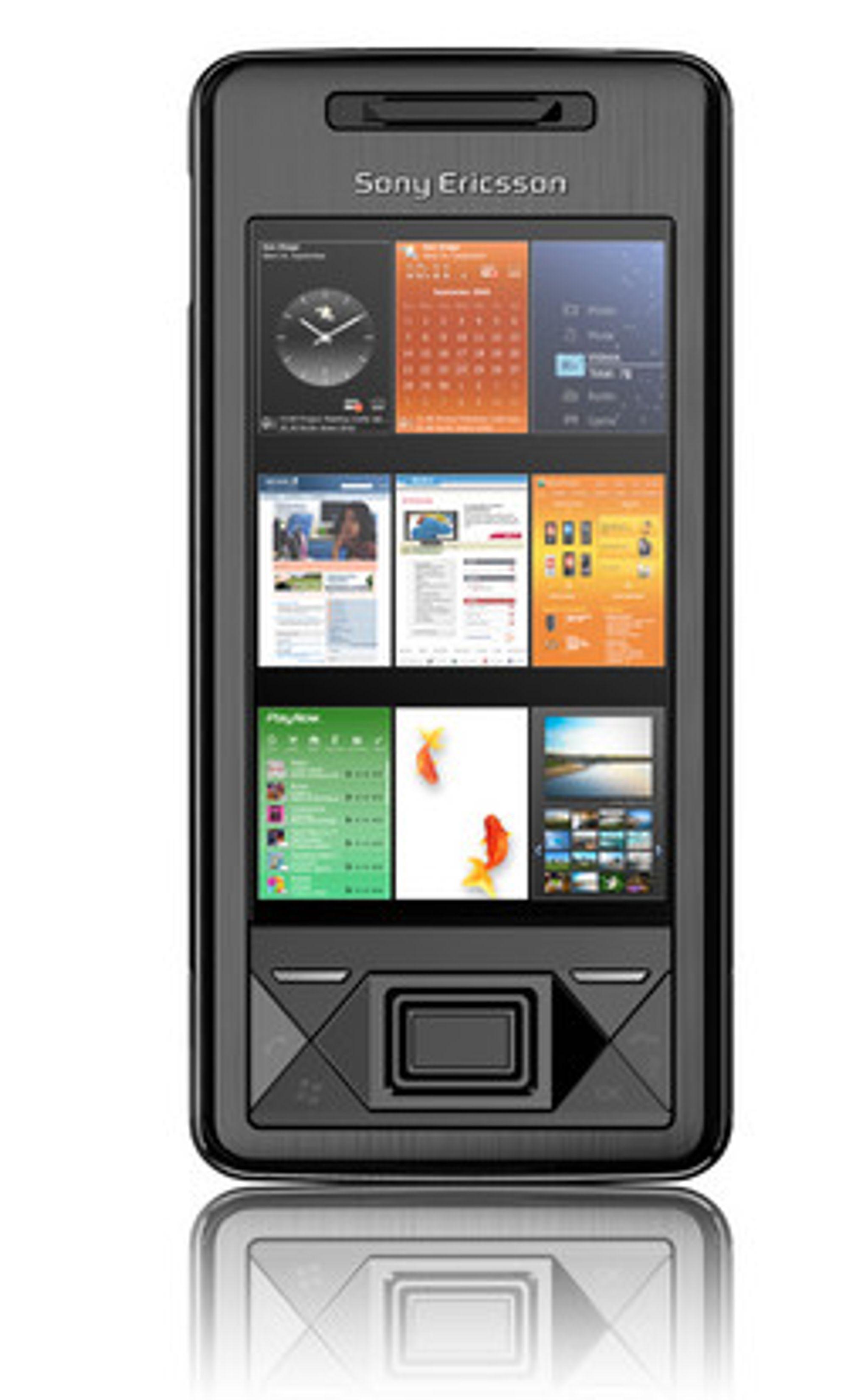 Sony Ericsson X1 overrasket mange under MWC-messen.