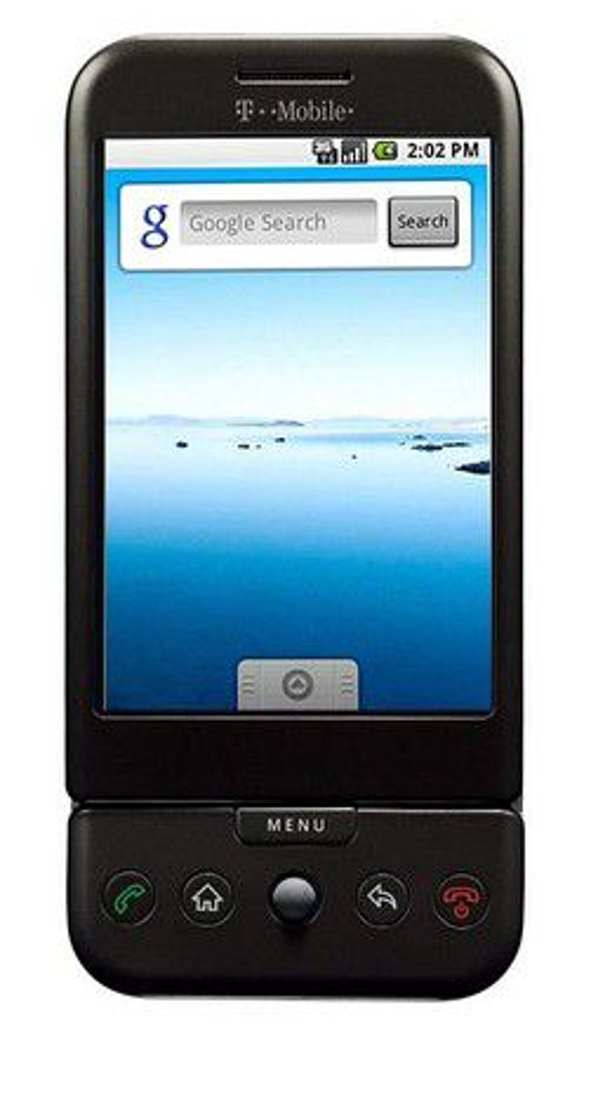Android-telefonen G1 ble lanser i september.