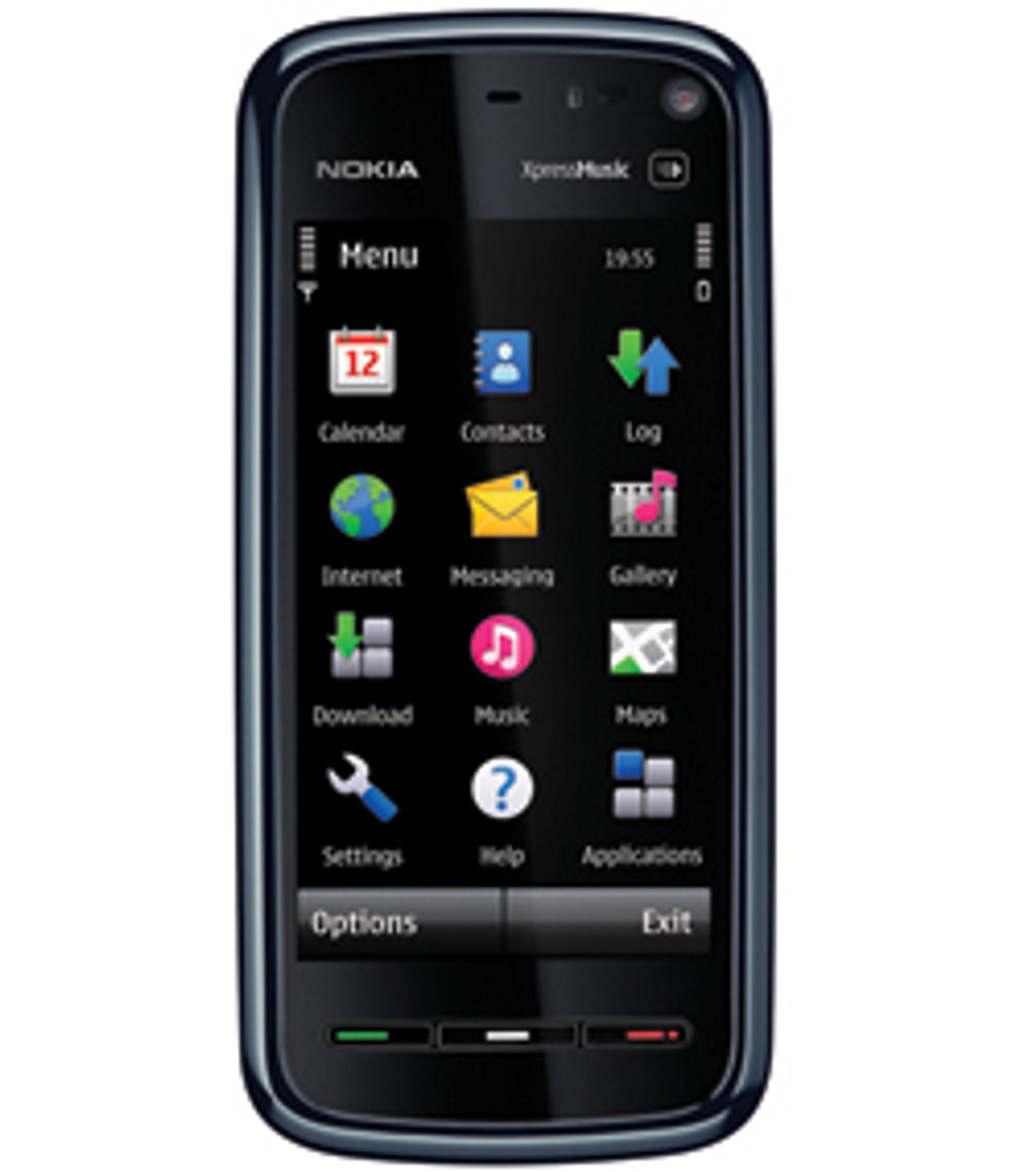 Nokia blir sent med i fingerskjermleken.