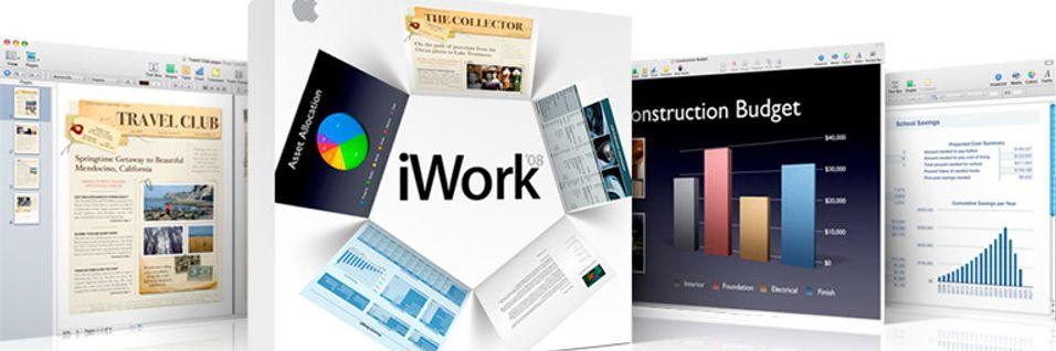 Iwork – en webpakke?