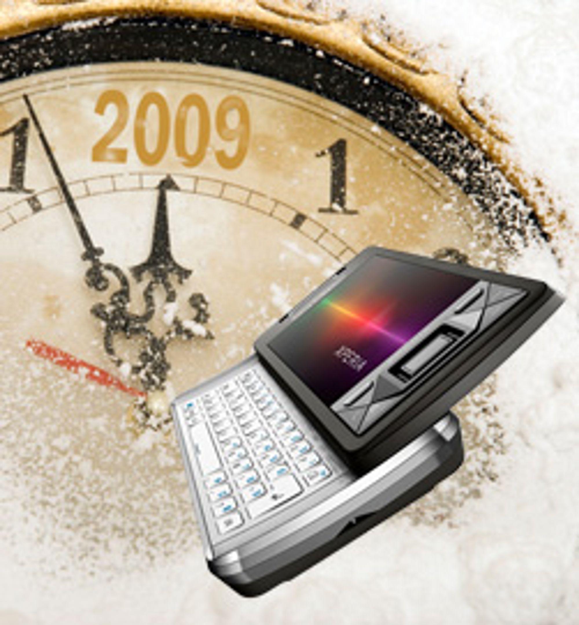 Mobilnettene hadde rekordmye SMS-trafikk på nyttårsaften. (Foto: Sony Ericsson, Carmen Martínez Banús)