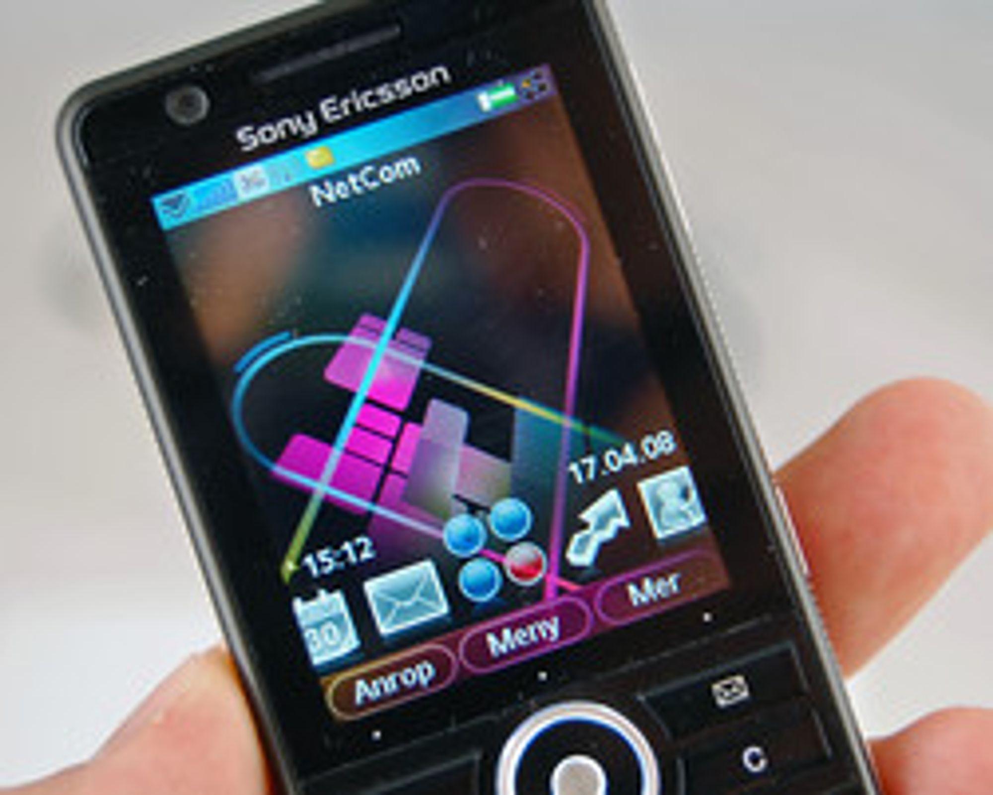 Sony Ericsson G900 var en av de siste UIQ-telefonene som ble lansert.