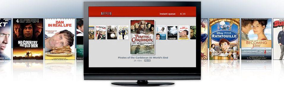 LG bygger inn Netflix-streaming