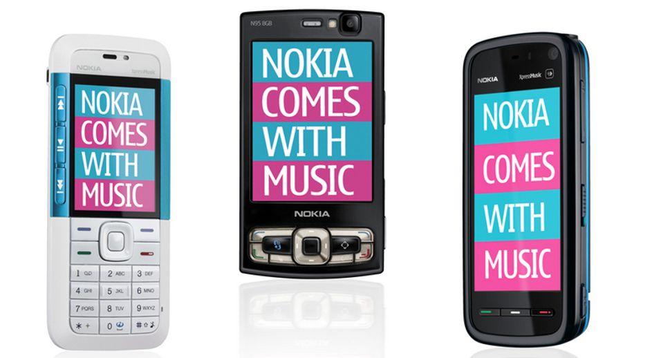 """–  Nokias """"gratis"""" musikk selger greit"""