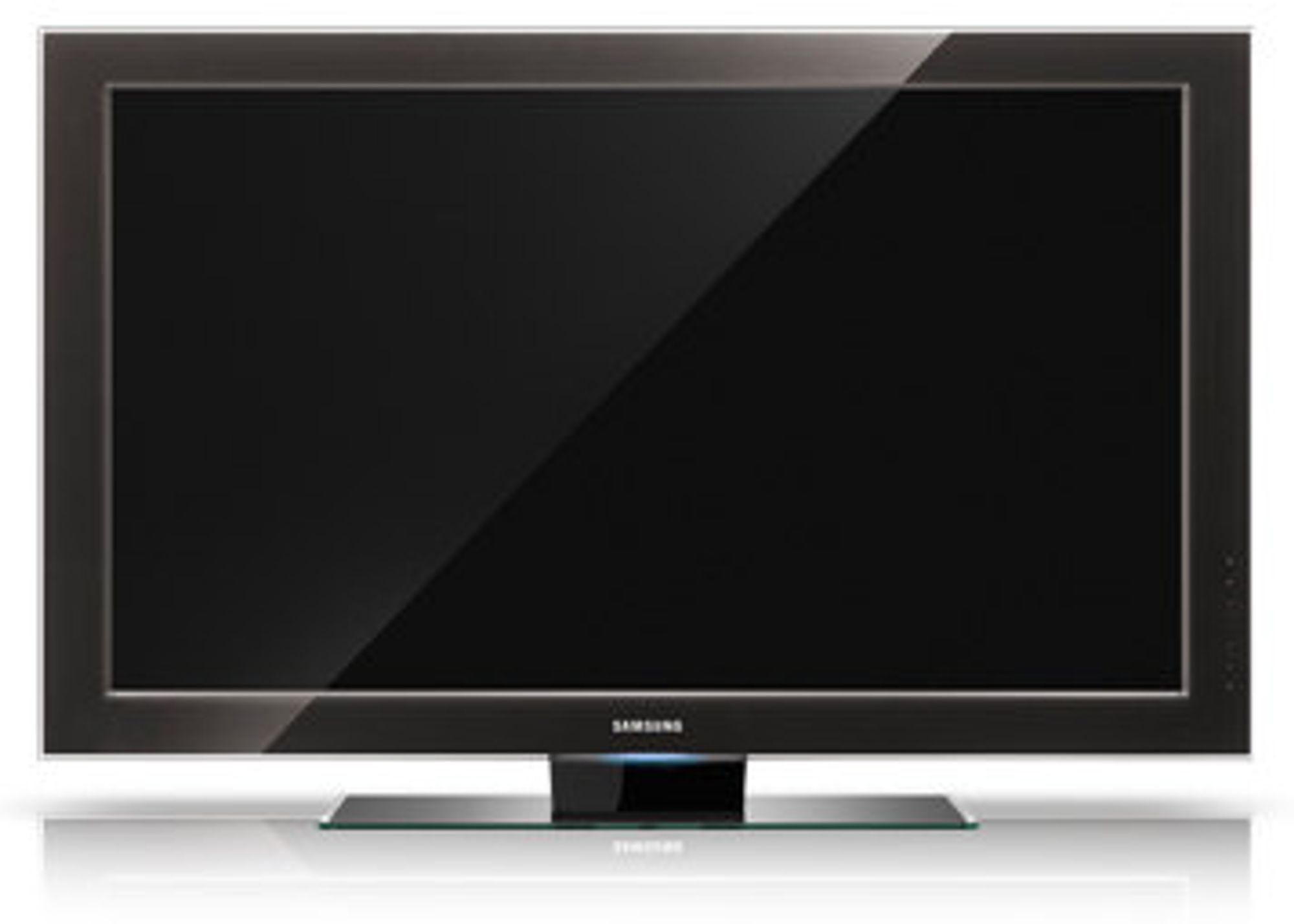Kommende Samsung-TV-er får støtte for TV-widgets  (bildet viser dagens 9-serie fra Samsung)