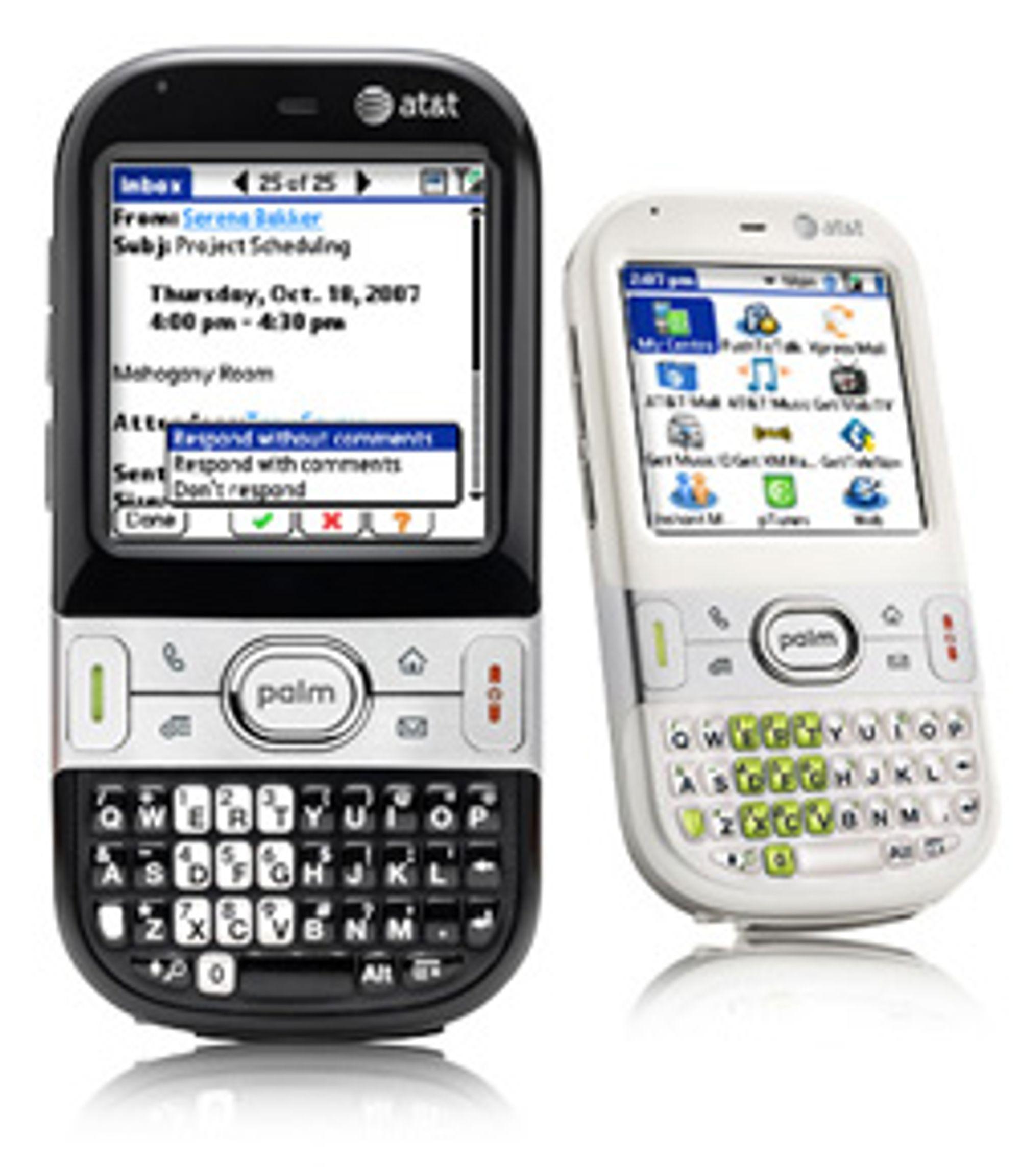 Det er lenge siden Palm var aktiv og i rampelyset. Bildet viser Palm Centro som ble lansert i slutten av 2007.