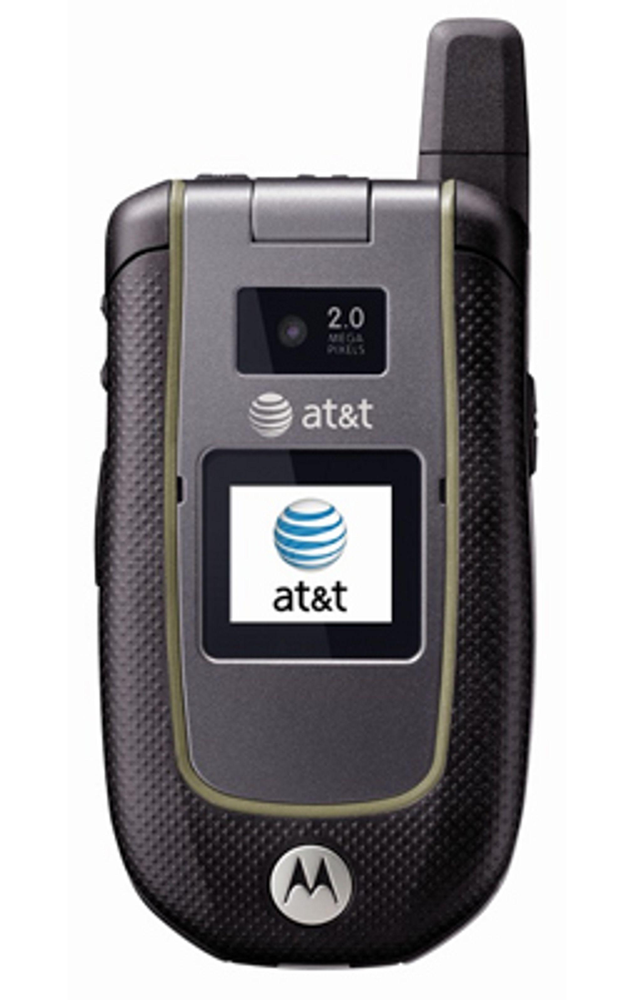 Motorolas nye kamskjelltelefon er laget for å tåle fall, slag og vann.