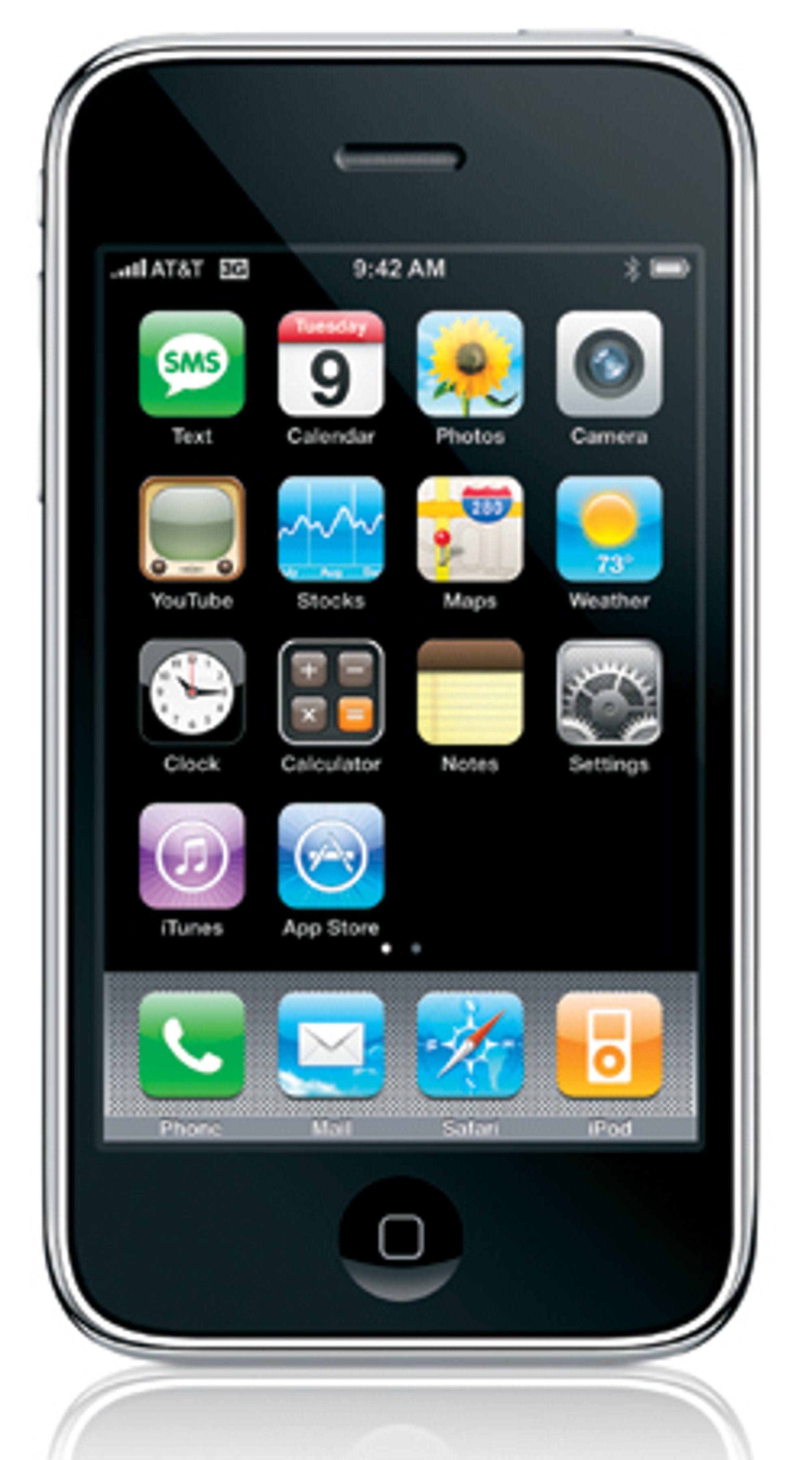 Netcom opplever at Iphonekundene er fornøyde.