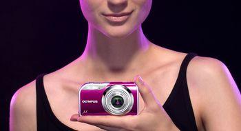 Kameraskred fra Olympus: Design