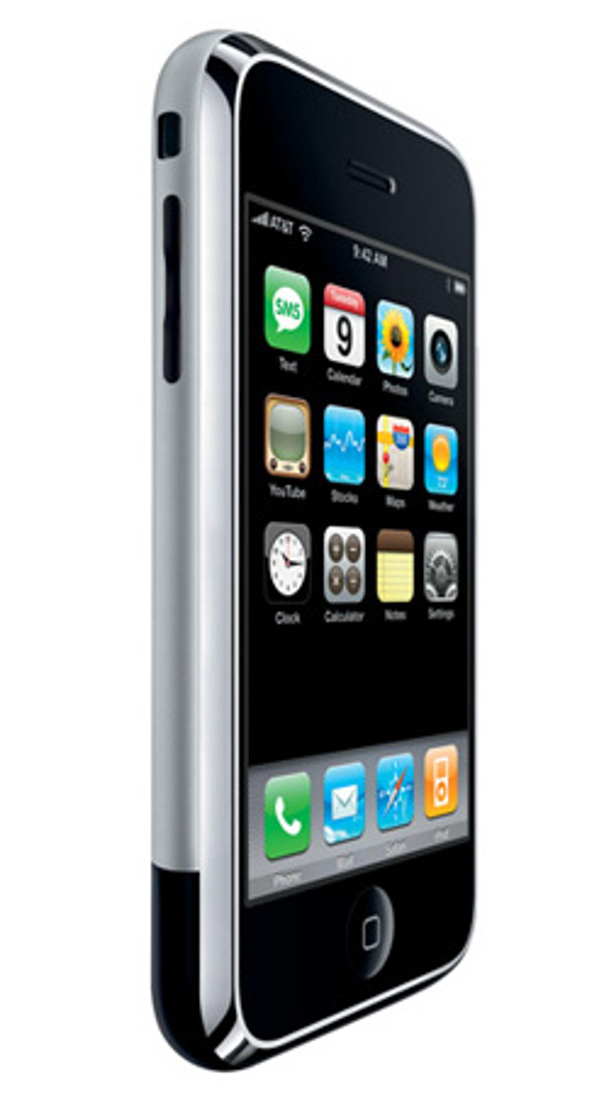 Network Norway lanserer Iphone. (Foto: Apple)