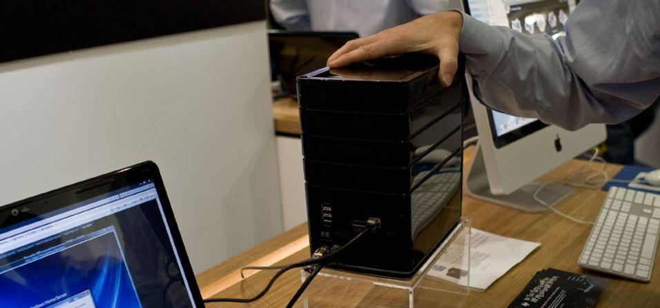 SNIKTITT: HP lager  hjemmeserver for Mac