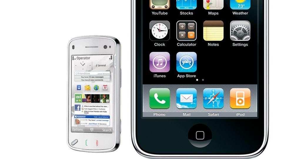 Apple blir større enn Nokia på smarttelefoner innen 2013, tror analysebyrå.