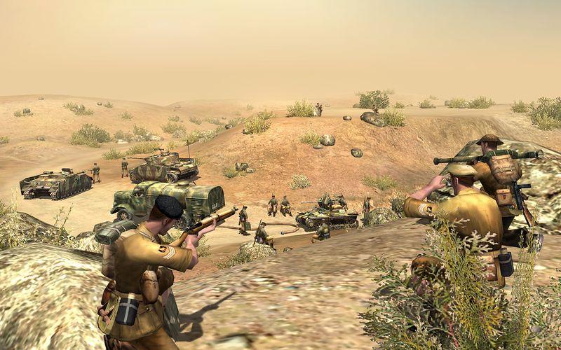 Скачать В тылу врага 2: Лис пустыни (2008) Crack (noDVD) торрент.
