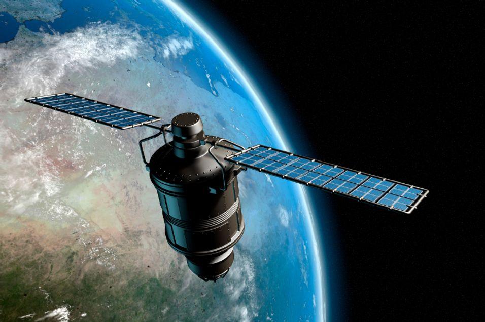 Satellitter som denne er nøkkelen til GPS-navigering.