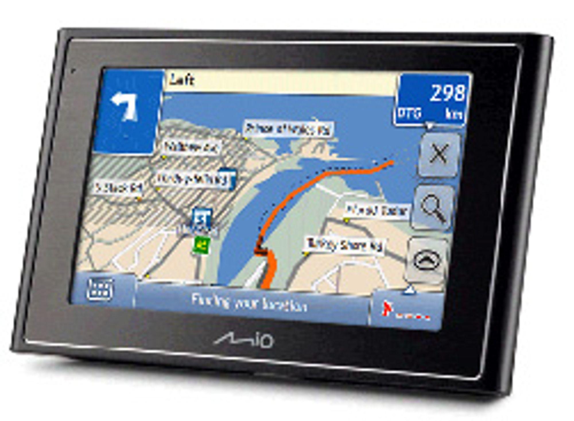 Hver GPS har en innebygget Quartz-klokke.
