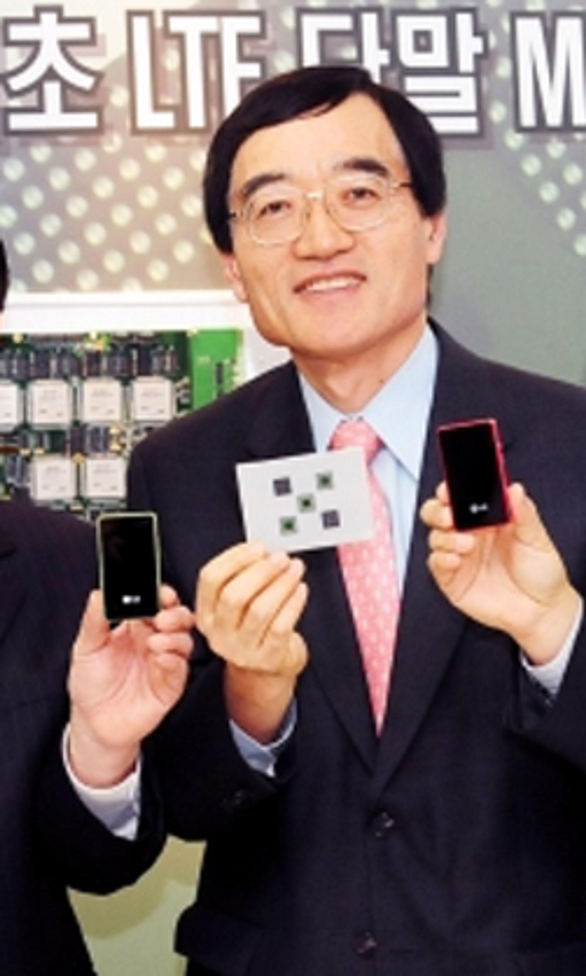 LG har allerede utviklet den første LTE-brikken for mobiltelefoner. Denne gjør det mulig å utstyre mobiltelefoner med 4G.