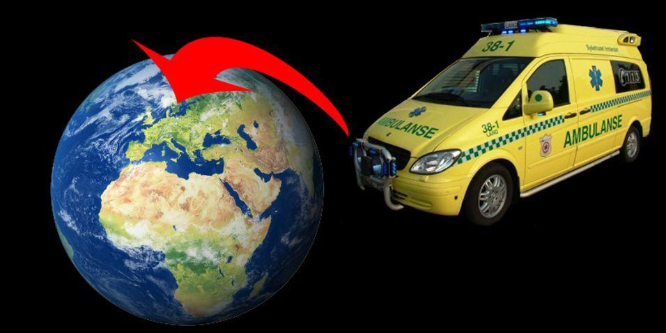 En GPS-posisjon i en nødmelding kan føre til raskere utrykning.