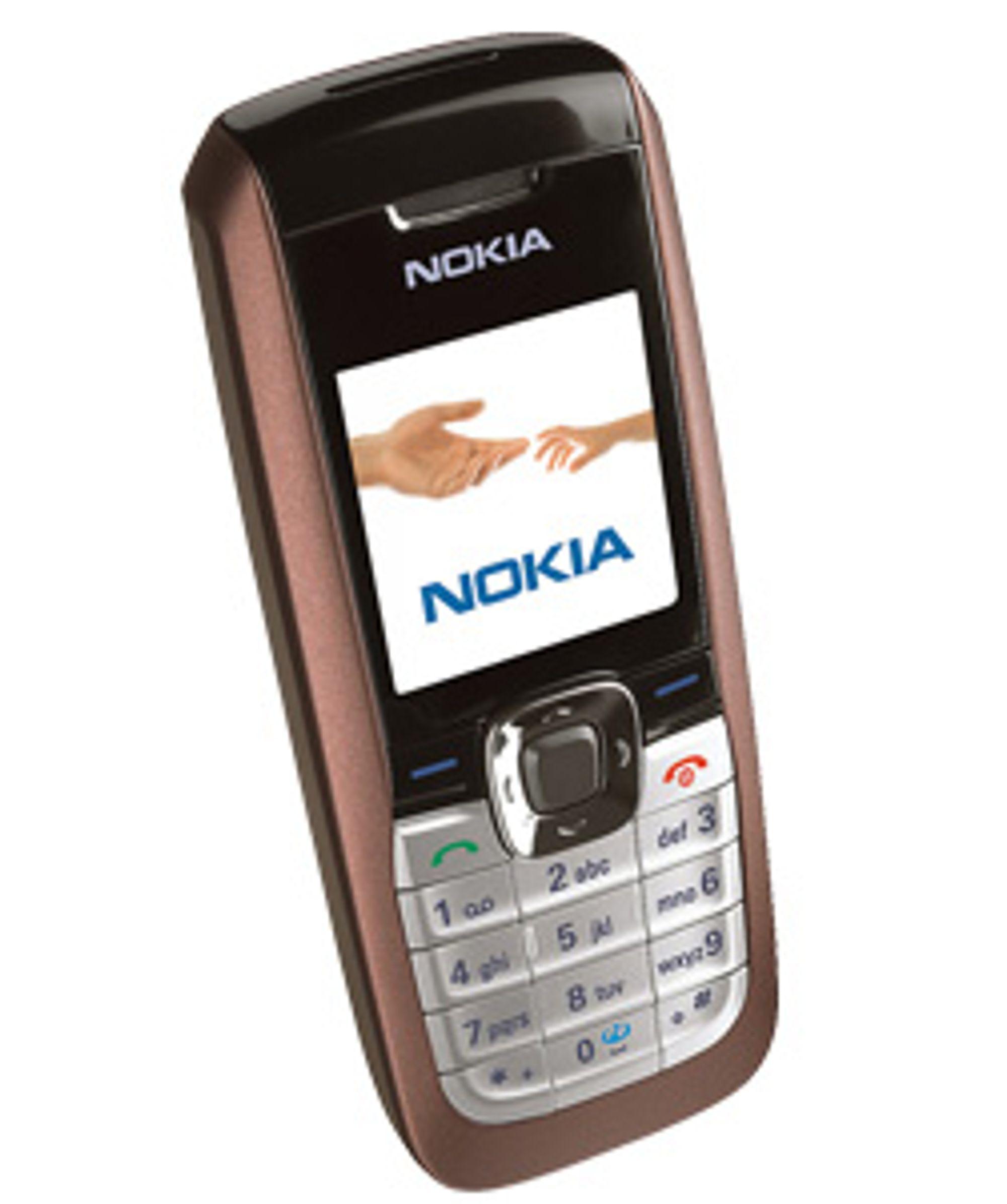 Enkle S40-telefoner vil selges med medfølgende e-postadresse.