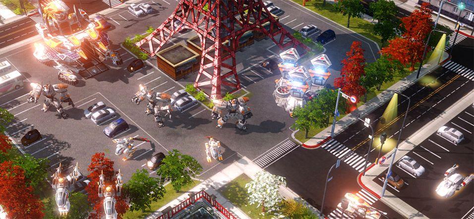 Red Alert 3 endelig til PS3