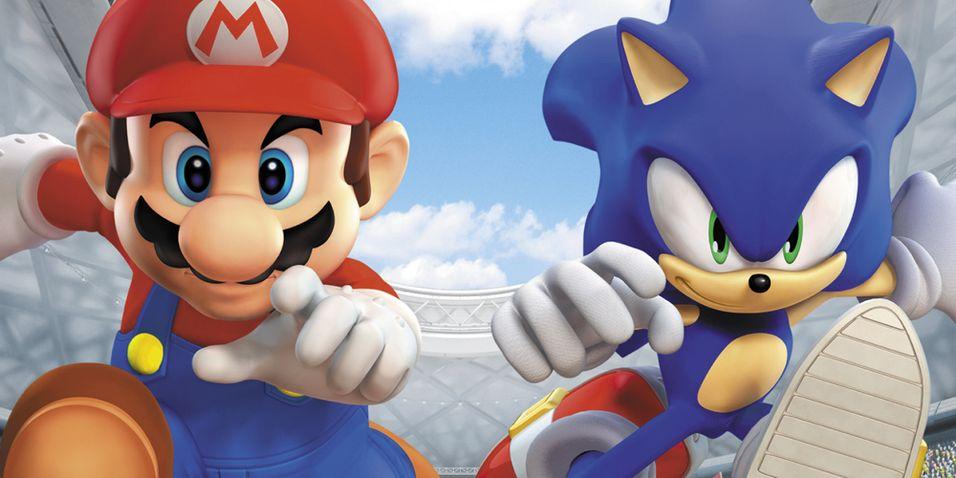 Vinterleker med Mario og Sonic?