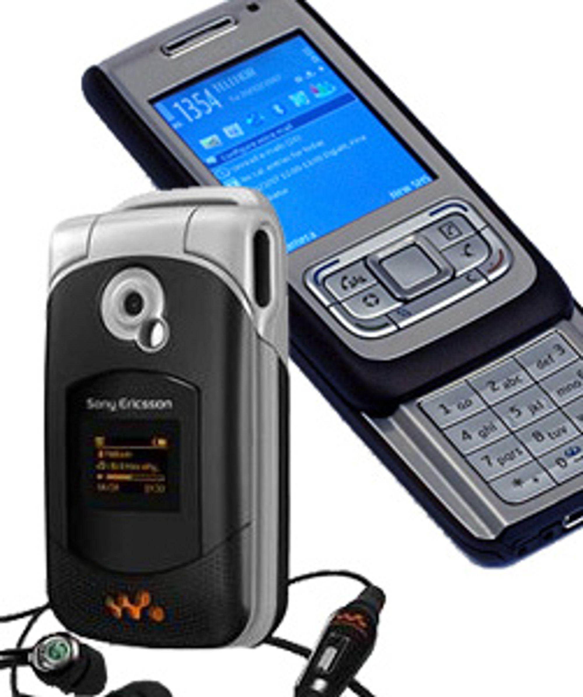 Disse mobilene inneholder nikkel. Før året er omme kan det bli slutt på nikkellegeringer.