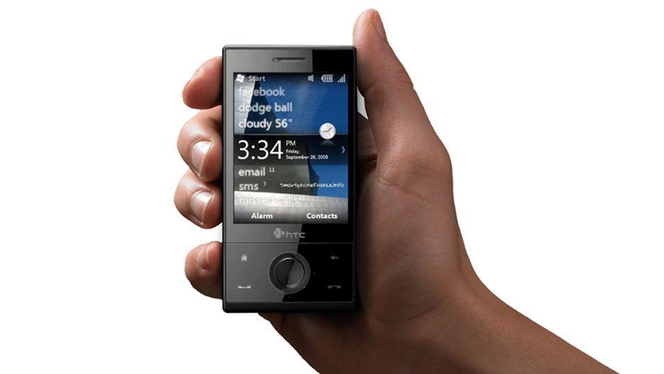Det vites ikke om Windows Mobile 6.5 kan installeres på HTCs eksisterende modeller.