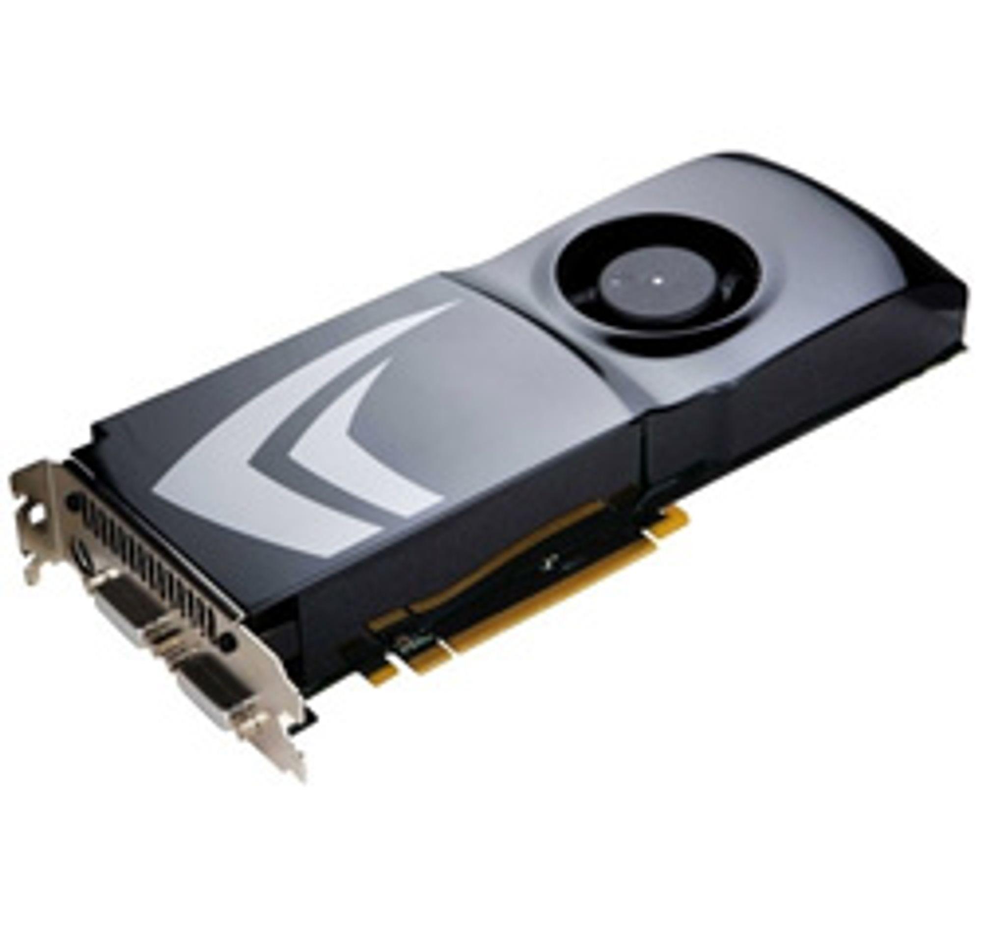 Nvidias 9800 GTX+ døpes om. (Foto: Nvidia)