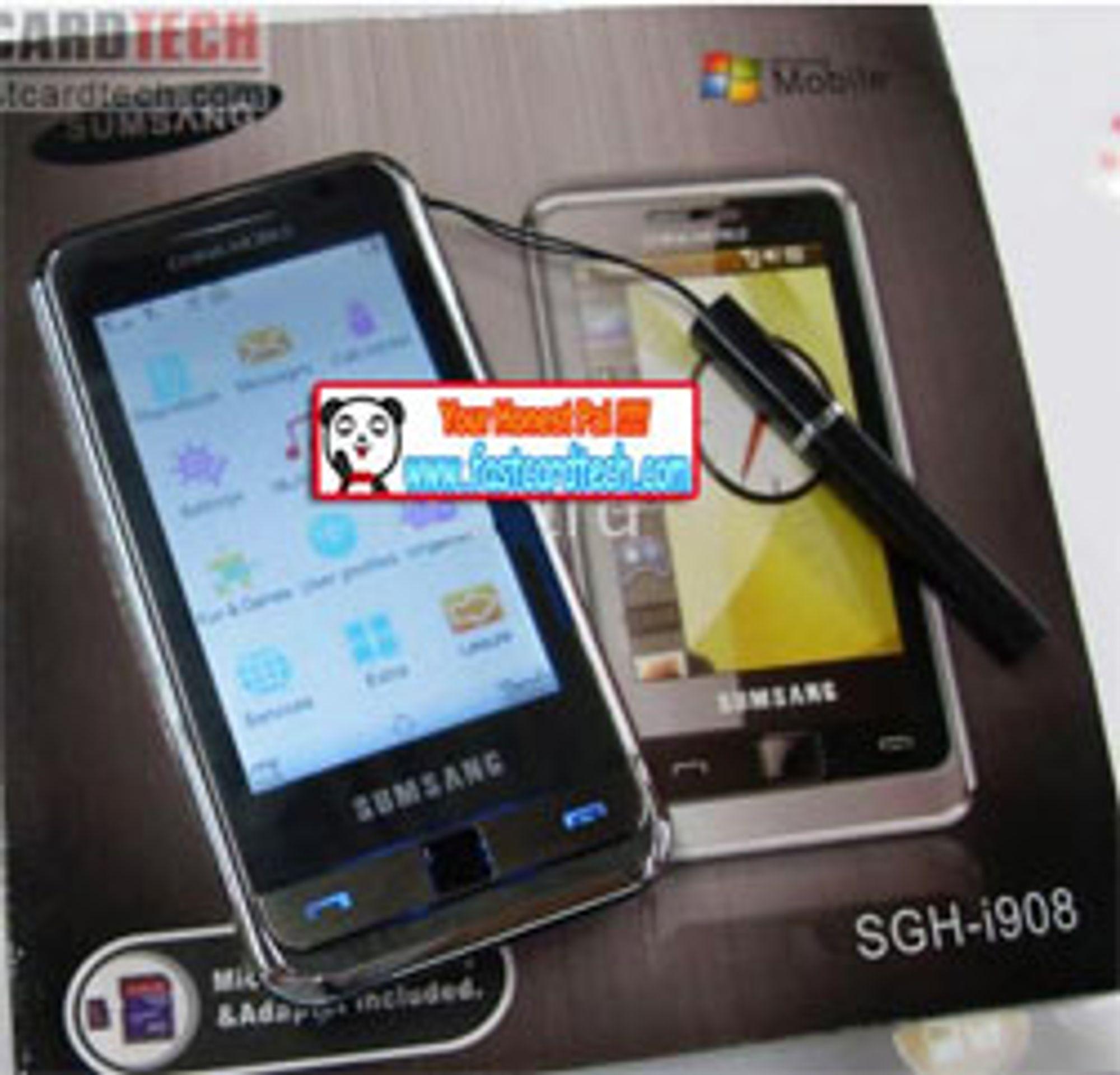 Sumsang Omnia ligner unektelig på Samsung Omnia.