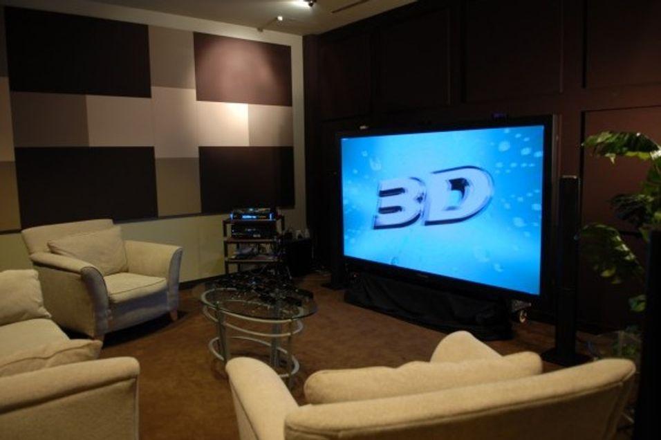 Panasonic sikter mot HD i 3D