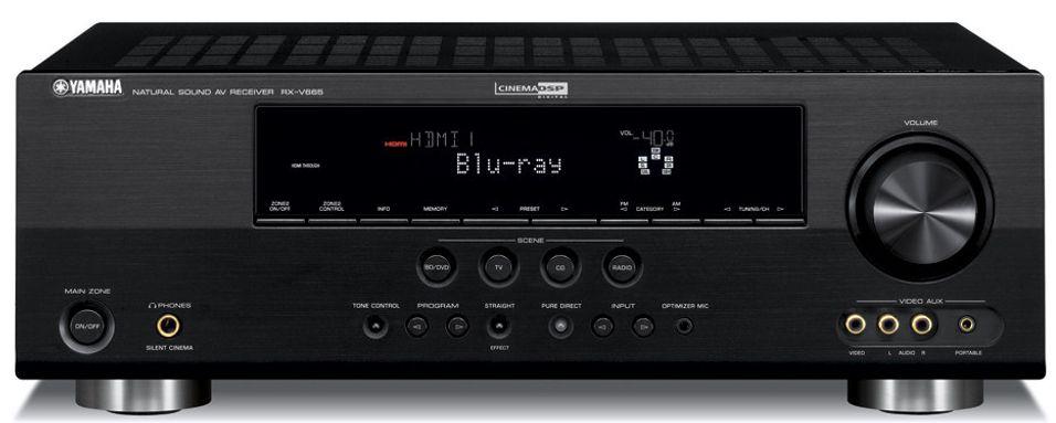 Yamaha RX-V665: 7.2 kanaler og full støtte for HD-lyd/bilde