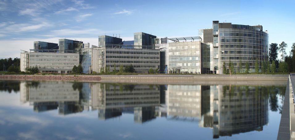 Nokias hovedkvarter i Espoo, Finland.