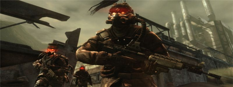 Killzone 2 skyter ned Halo Wars