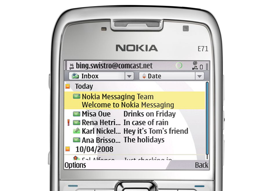 TEST: Nokia Messaging