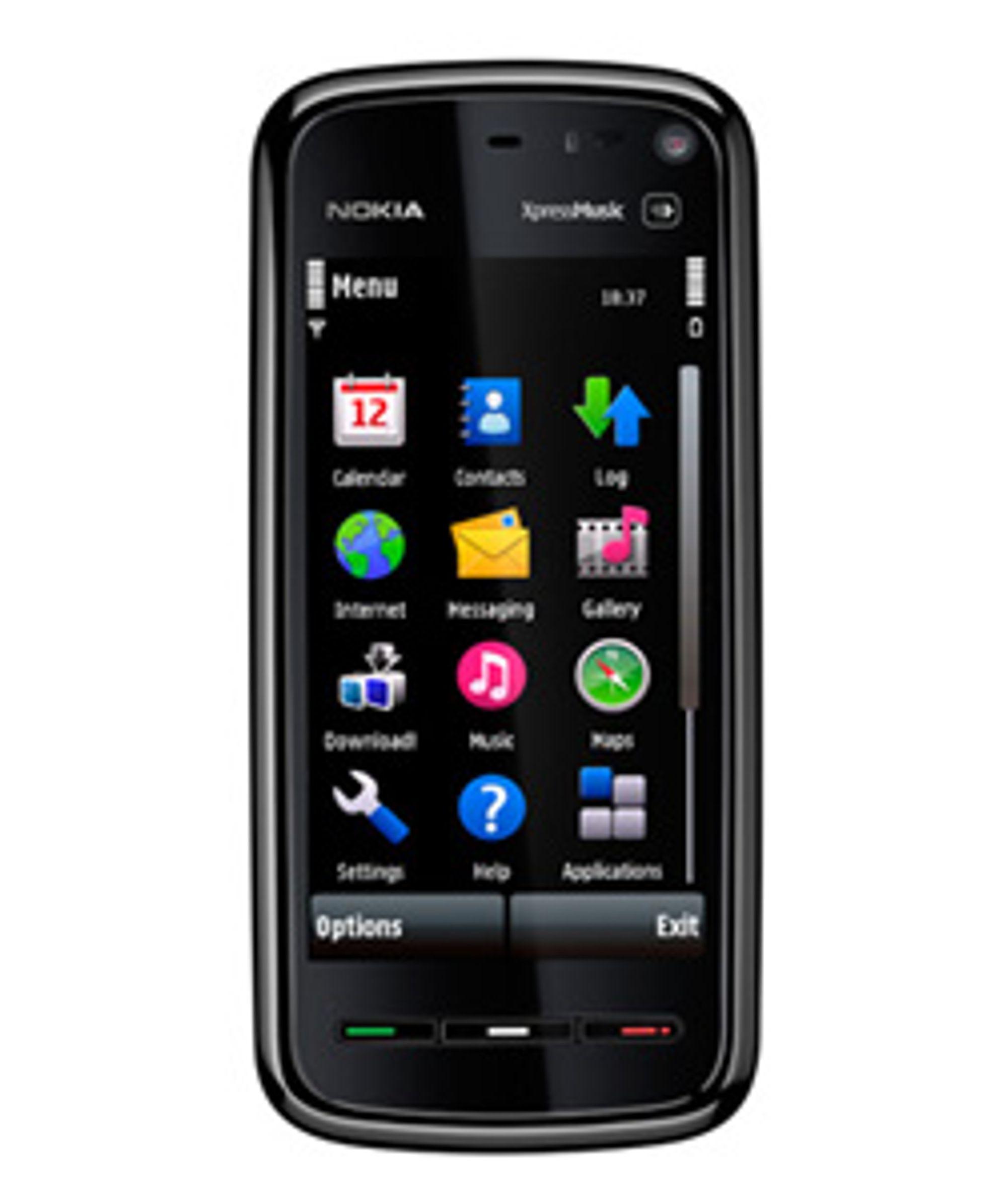Nokias 5800 Xpressmusic. (Foto: Nokia)