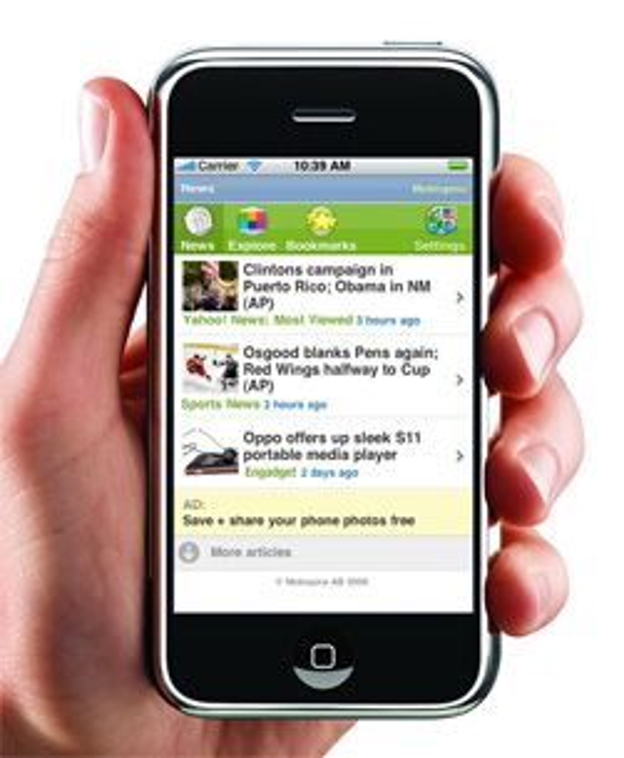 Mobispine utvikler programvare for Iphone. (Foto: Mobispine)