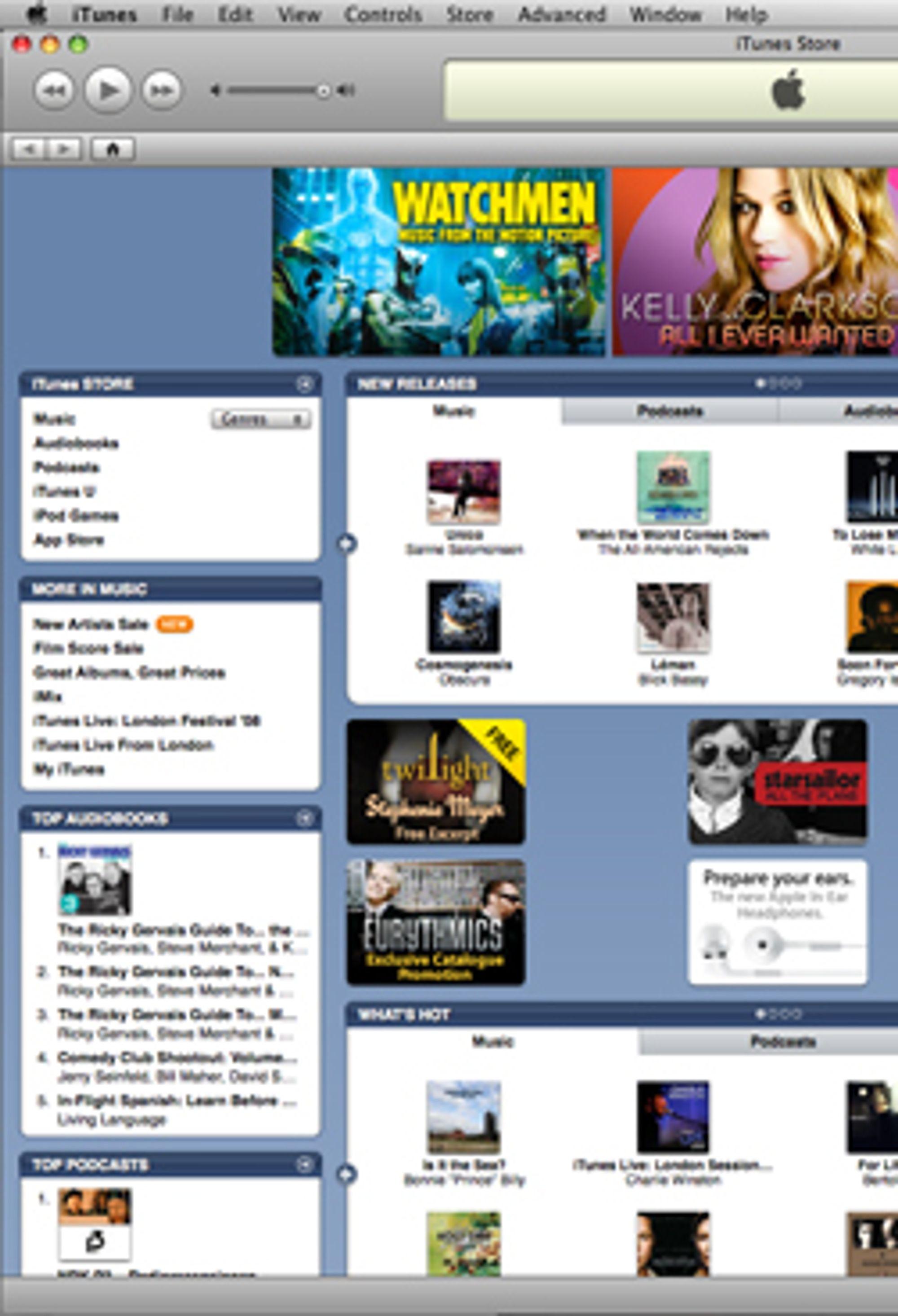 Itunes er fortsatt et bra tilbud, spesielt nå som musikken er uten DRM.
