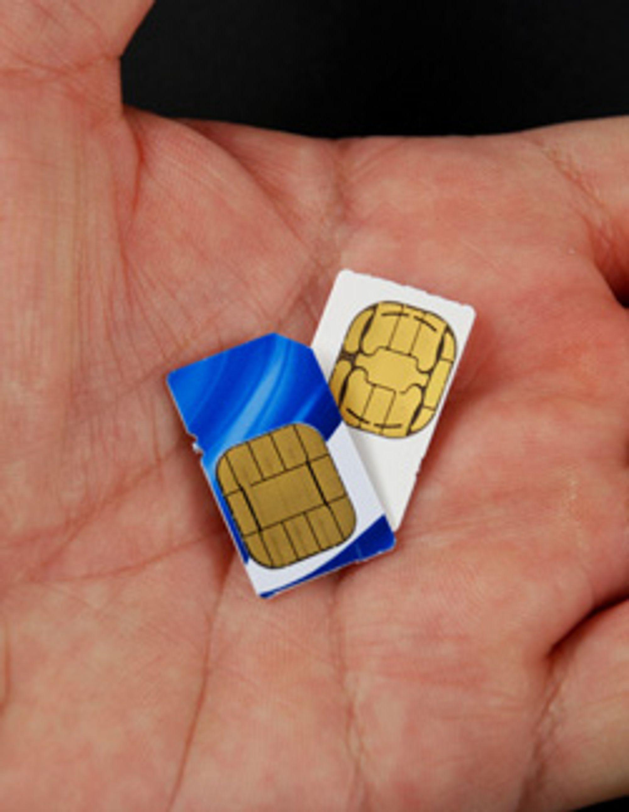 Geodesa lager SIM med plass til to numre. (Foto: Istockphoto)