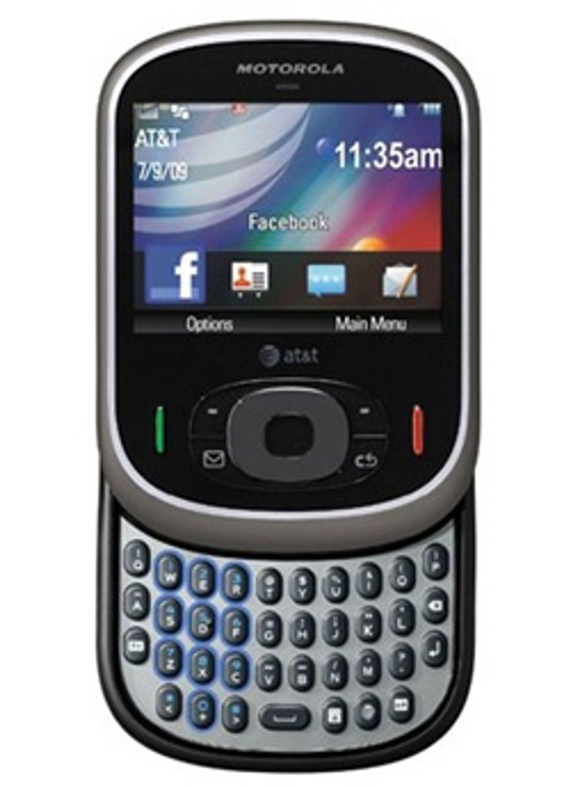 Har Motorola smarttelefoner oppi ermet? (Foto: Motorola)