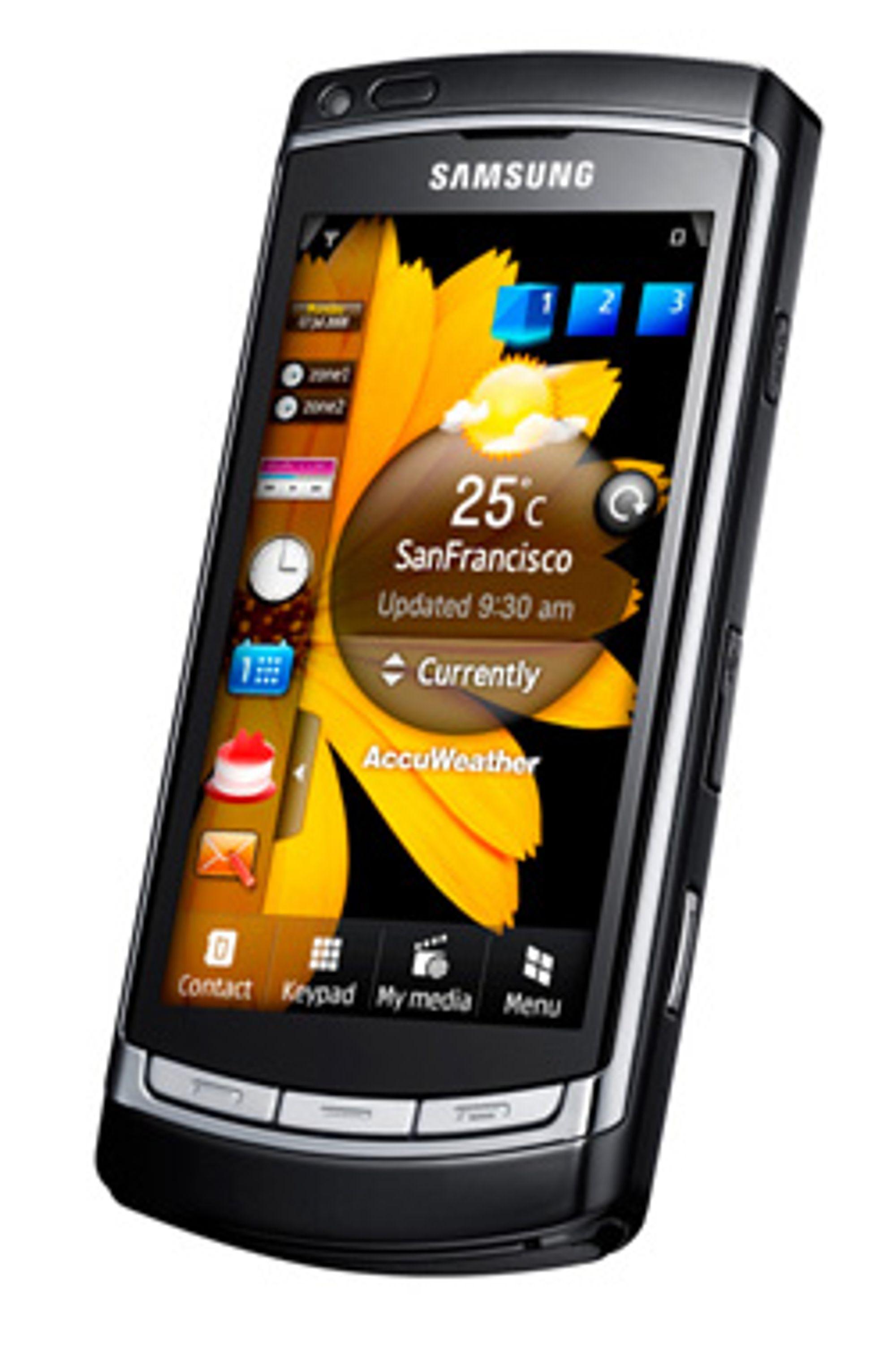 Samsung gadd ikke vente på Microsoft til Omnia HD. (Foto: Samsung)