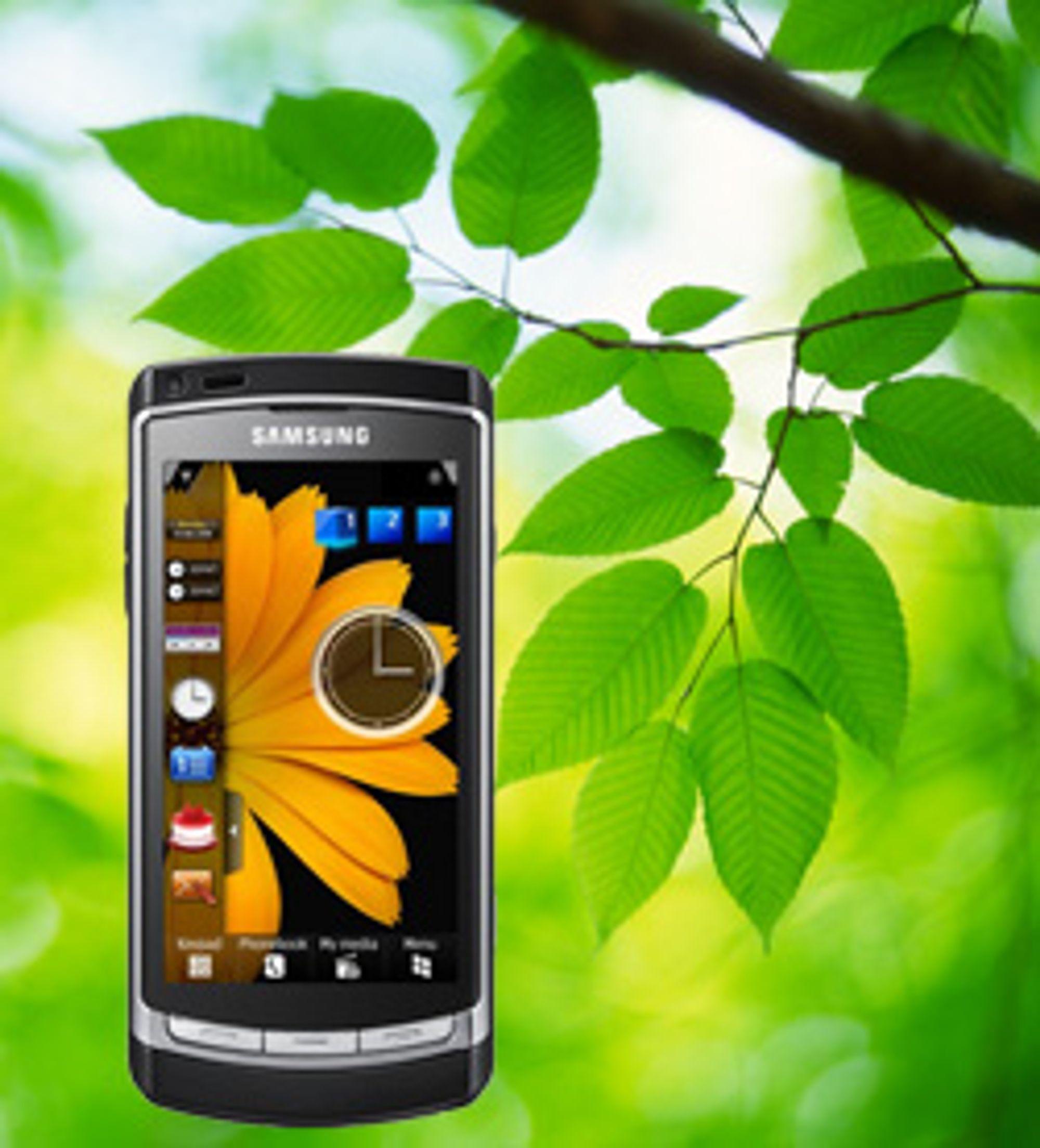 Den nye teknologien kan gi bedre batterilevetid, også til trykkskjermmobiler. (Foto: Istockphoto, Samsung)