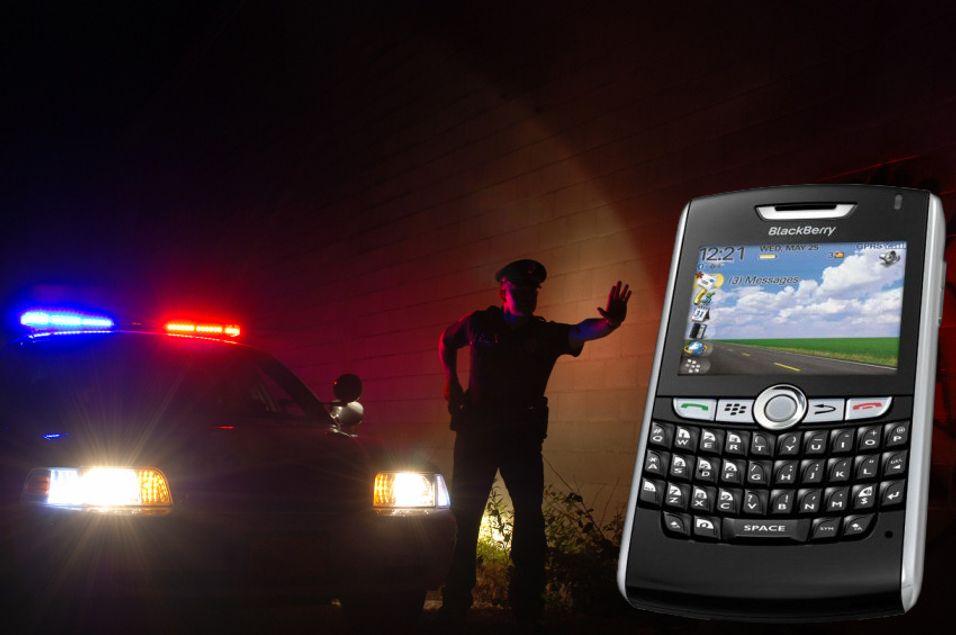Blackberry skjuler kriminelle