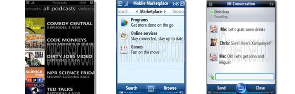 Nye bilder av Windows Mobile 7?