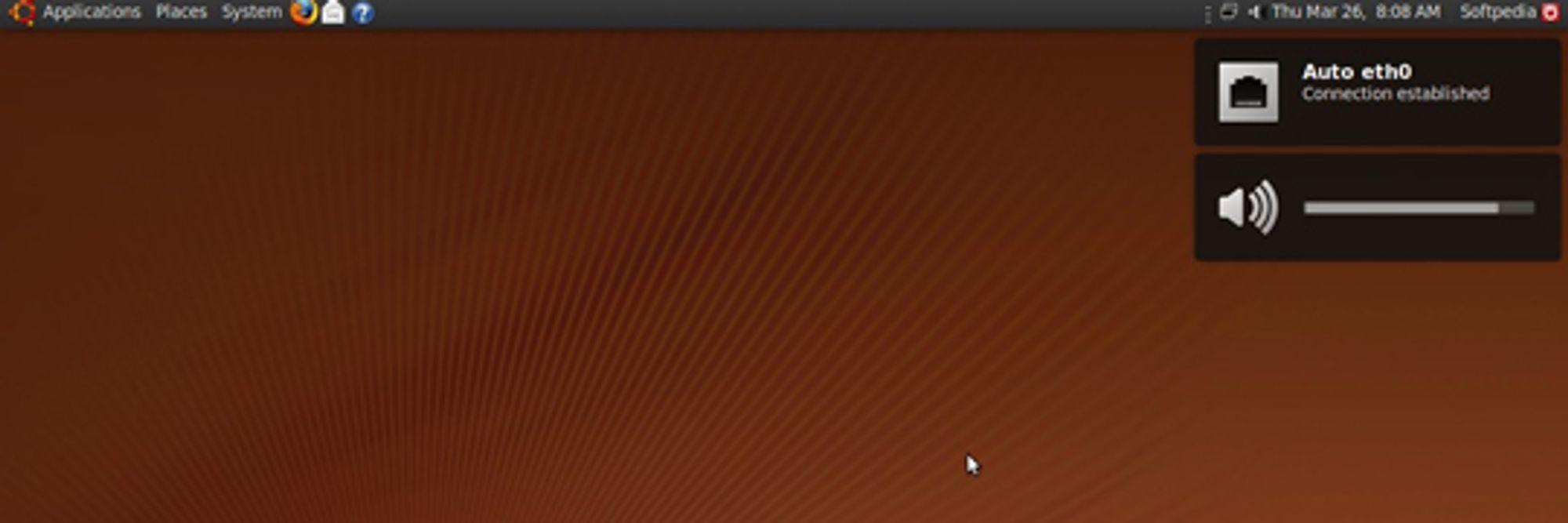 Nytt utseende og varslingssystem i Ubuntu 9.04: Jaunty Jackalope